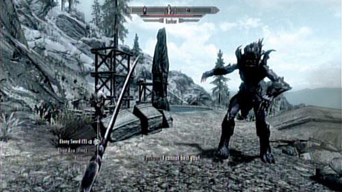 skyrim dragonborn how to kill karstaag