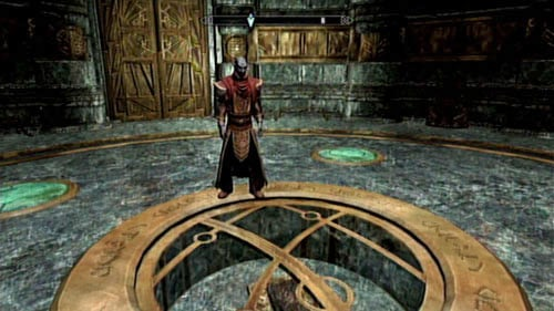 Head to Nchardak together with Neloth and take a look at the Black Book hidden beneath the floor - no magic is capable of getting it to the surface - Restore the steam supply to the Dwemer reading room - Main story mode - Path of Knowledge - The Elder Scrolls V: Skyrim - Dragonborn - Game Guide and Walkthrough