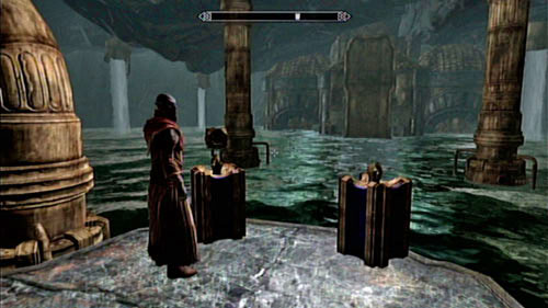 Follow the mage and listen to his monologue - Restore the steam supply to the Dwemer reading room - Main story mode - Path of Knowledge - The Elder Scrolls V: Skyrim - Dragonborn - Game Guide and Walkthrough