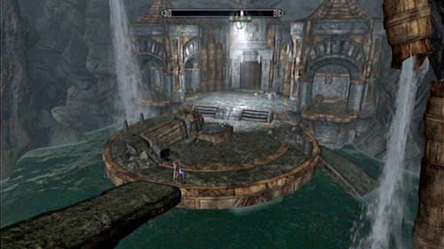 In order to cross the aqueduct, you will have to lower three draw bridges - Restore the steam supply to the Dwemer reading room - Main story mode - Path of Knowledge - The Elder Scrolls V: Skyrim - Dragonborn - Game Guide and Walkthrough