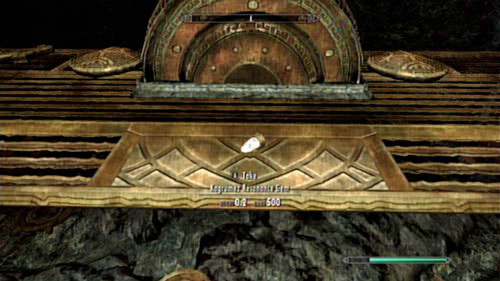 Return to the Great Chamber and place three Cubes on the pedestal by the pumps - that way you will lower the water level - Restore the steam supply to the Dwemer reading room - Main story mode - Path of Knowledge - The Elder Scrolls V: Skyrim - Dragonborn - Game Guide and Walkthrough