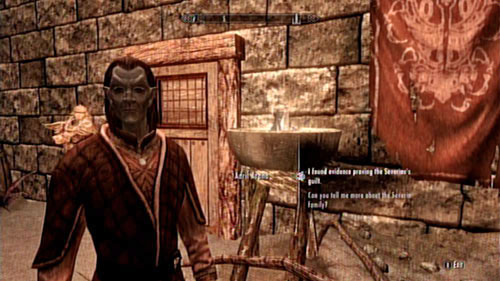 The title of this objective says it all - you have to deliver the obtained evidence (which you acquired in Severin Manor) to the quest giver - Served Cold - Side missions - Raven Rock - The Elder Scrolls V: Skyrim - Dragonborn - Game Guide and Walkthrough