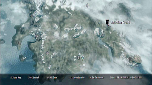 Head out of Raven Rock and go east - Ashfallow Citadel, where you need to get, is found at the other edge of Solstheim - Served Cold - Side missions - Raven Rock - The Elder Scrolls V: Skyrim - Dragonborn - Game Guide and Walkthrough
