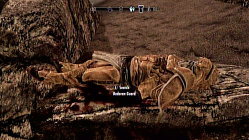 Approach the gate and you should find the corpse of a Redoran Guard on the stairs - it's the one who was supposed to accompany you - Served Cold - Side missions - Raven Rock - The Elder Scrolls V: Skyrim - Dragonborn - Game Guide and Walkthrough