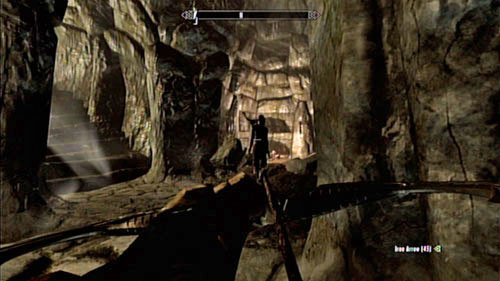 After shaking off the unpleasant feeling and noticing that you're back in the normal world, head towards the round stairs leading to the mine entrance - The Final Descent - Side missions - Raven Rock - The Elder Scrolls V: Skyrim - Dragonborn - Game Guide and Walkthrough