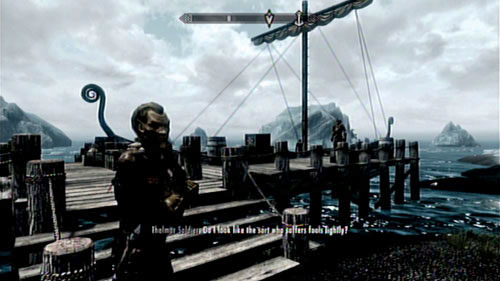 There's a few ways of solving the problem - you can kill all the enemies at once and retrieve the Stalhrim Source Map from Ancarion's corpse - that's however the most brutal option - A New Source of Stalhrim - Side missions - Skaal Village - The Elder Scrolls V: Skyrim - Dragonborn - Game Guide and Walkthrough