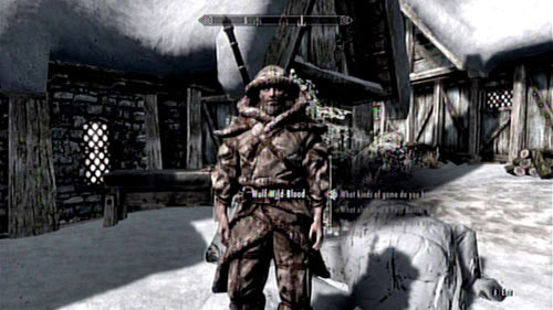After freeing the Skaal Village from Miraak's influence (see: The Fate of the Skaal), approach the hunter named Wulf Wild-Blood (he's usually forging weapons by his workshop) - Filial Bonds - Side missions - Skaal Village - The Elder Scrolls V: Skyrim - Dragonborn - Game Guide and Walkthrough