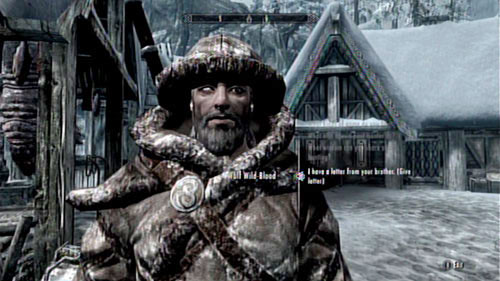 Return to the Skaal Village and tell Wulf about the fate of his brother - Filial Bonds - Side missions - Skaal Village - The Elder Scrolls V: Skyrim - Dragonborn - Game Guide and Walkthrough