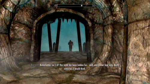 After heading into the cave, you will be approached by Tharstan who will tell you of his discovery - Lost Legacy - Side missions - Skaal Village - The Elder Scrolls V: Skyrim - Dragonborn - Game Guide and Walkthrough