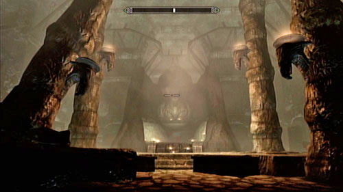 Note that the coffin on the left has a hidden passage in it - Lost Legacy - Side missions - Skaal Village - The Elder Scrolls V: Skyrim - Dragonborn - Game Guide and Walkthrough