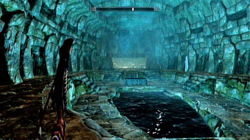 Be careful as you step inside the tomb chamber - the floor is covered with pressure plates which activate flamethrowers - you will burn immediately if you're not careful enough - Lost Legacy - Side missions - Skaal Village - The Elder Scrolls V: Skyrim - Dragonborn - Game Guide and Walkthrough