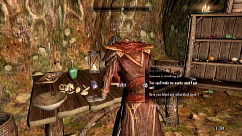 Return to the tower in Tel Mithryn and tell the mage of the side effects that you experienced - Experimental Subject - Side missions - Tel Mithryn - The Elder Scrolls V: Skyrim - Dragonborn - Game Guide and Walkthrough