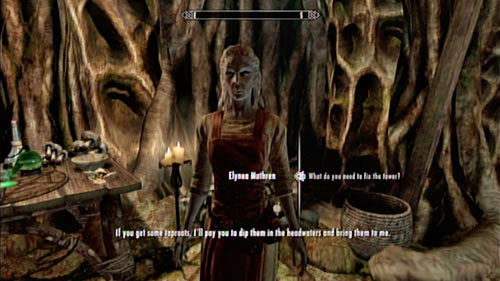 Notice - Healing a House - Side missions - Tel Mithryn - The Elder Scrolls V: Skyrim - Dragonborn - Game Guide and Walkthrough