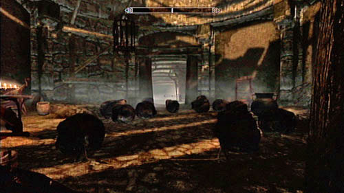 When the corridor ends, you will enter a small hall with two traps which you should try to avoid - one is magical and the second consists of falling boulders - Old Friends - Side missions - Tel Mithryn - The Elder Scrolls V: Skyrim - Dragonborn - Game Guide and Walkthrough
