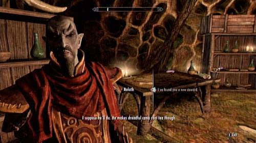 Return to the mushroom tower and report to the mage - Reluctant Steward - Side missions - Tel Mithryn - The Elder Scrolls V: Skyrim - Dragonborn - Game Guide and Walkthrough