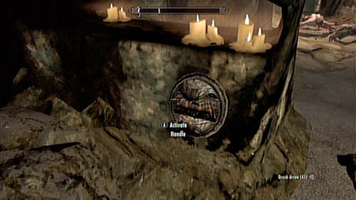 Even though you can probably head the Dragonborn song in the distance (suggesting the presence of a Word of Power), you won't be able to reach its location for now - Unearthed - Side missions - Kolbjorn Barrow - The Elder Scrolls V: Skyrim - Dragonborn - Game Guide and Walkthrough
