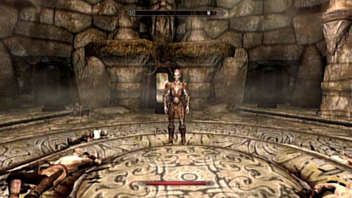In the middle of the room in which Ahzidal was resting you will find Ralis, standing between the corpses of miners - Unearthed - Side missions - Kolbjorn Barrow - The Elder Scrolls V: Skyrim - Dragonborn - Game Guide and Walkthrough