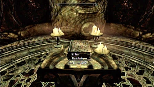 Remember to check out the room behind Ahzidal's alter before heading back to the surface - you can find there some treasure and a Black Book which begin Black Book: Filament and Filigree - Unearthed - Side missions - Kolbjorn Barrow - The Elder Scrolls V: Skyrim - Dragonborn - Game Guide and Walkthrough