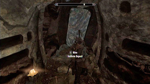 Head through the mysterious corridor hidden behind the wall of Stalhrim, go through the gate and enter the dungeon - Deathbrand - Side missions - Others - The Elder Scrolls V: Skyrim - Dragonborn - Game Guide and Walkthrough