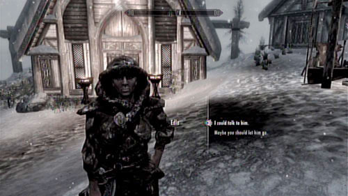 This mission can be activated by speaking with Edla in the Skaal Village - Convince Nikulas to stay in Skaal Village - Other missions - The Elder Scrolls V: Skyrim - Dragonborn - Game Guide and Walkthrough