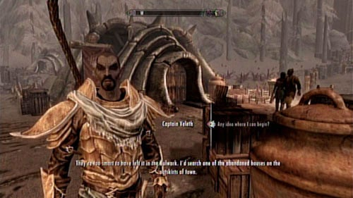 If you have completed March of the Dead, you can help Captain Veleth fight alcoholism amongst his people - Locate the Raven Rock Stash - Other missions - The Elder Scrolls V: Skyrim - Dragonborn - Game Guide and Walkthrough
