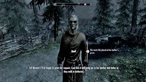 Once you're there, meet with the Elf and give him the necklace - Take Nera's Necklace to Runil in Falkreath - Other missions - The Elder Scrolls V: Skyrim - Dragonborn - Game Guide and Walkthrough