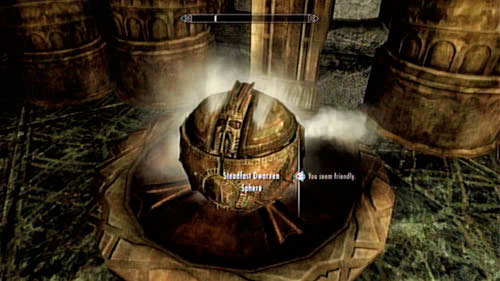 Enter the forge in which you came across the friendly Spider - Kagrumez - Unmarked missions - The Elder Scrolls V: Skyrim - Dragonborn - Game Guide and Walkthrough