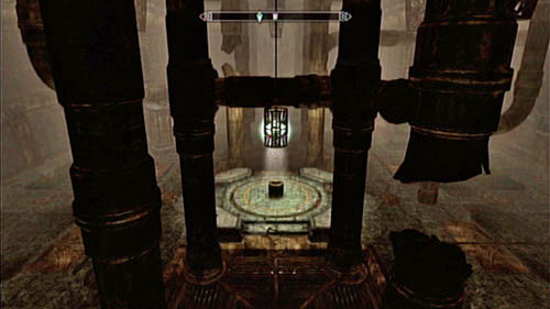 Beside the destroyed centurion you will find lots of treasures and valuables and beside the platform by the furnace - a mediocre bow - Kagrumez - Unmarked missions - The Elder Scrolls V: Skyrim - Dragonborn - Game Guide and Walkthrough