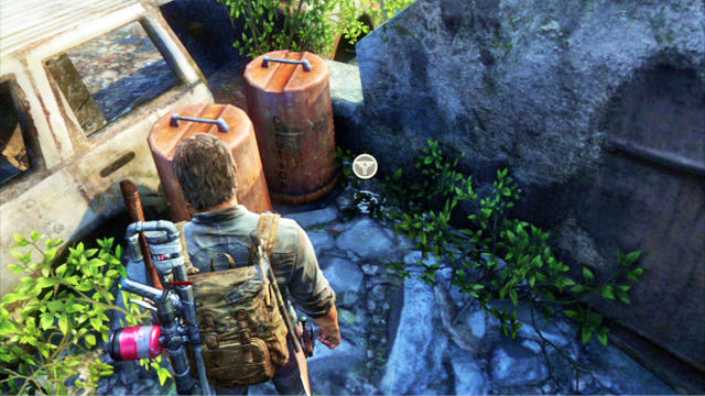 Bus depot artifacts and pendants the last of us game guide behind the wreck next to the barrels you can find the pendant bus depot aloadofball Image collections