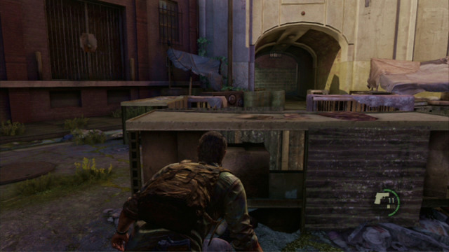 To Eliminate The Enemies Sneak Over To The Crates To The Left And Hide Behind