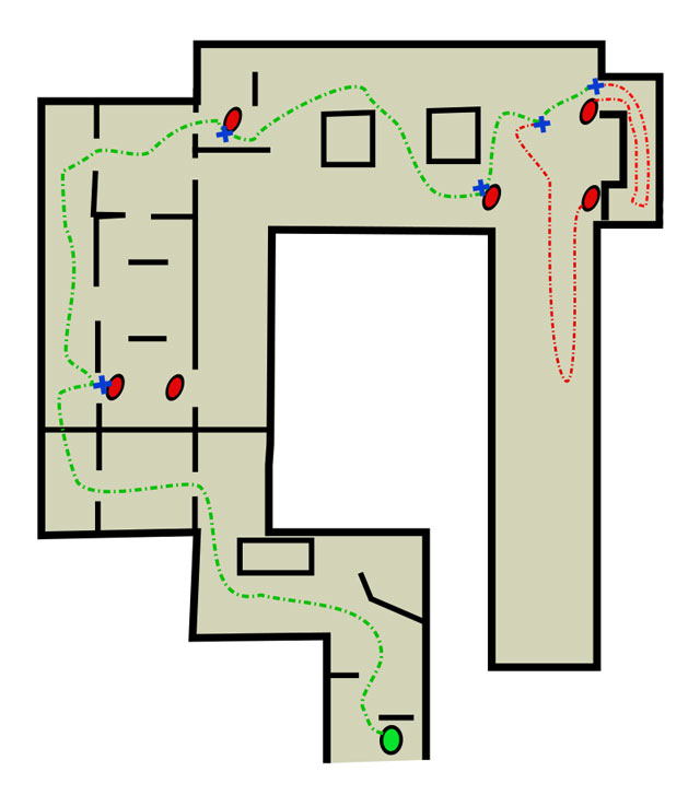 Legend The Cargo Text Map The Quarantine Zone The Last
