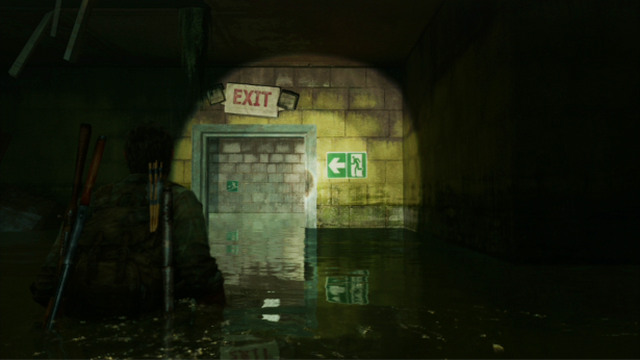 Go straight to the exit to reach a staircase - Hotel Lobby (text & maps) - Pittsburgh - The Last of Us - Game Guide and Walkthrough