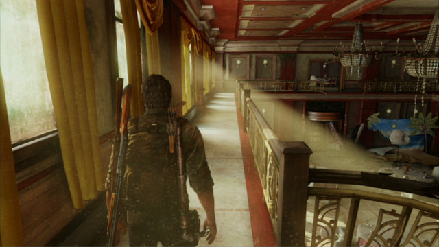 Go ahead - Hotel Lobby (text & maps) - Pittsburgh - The Last of Us - Game Guide and Walkthrough