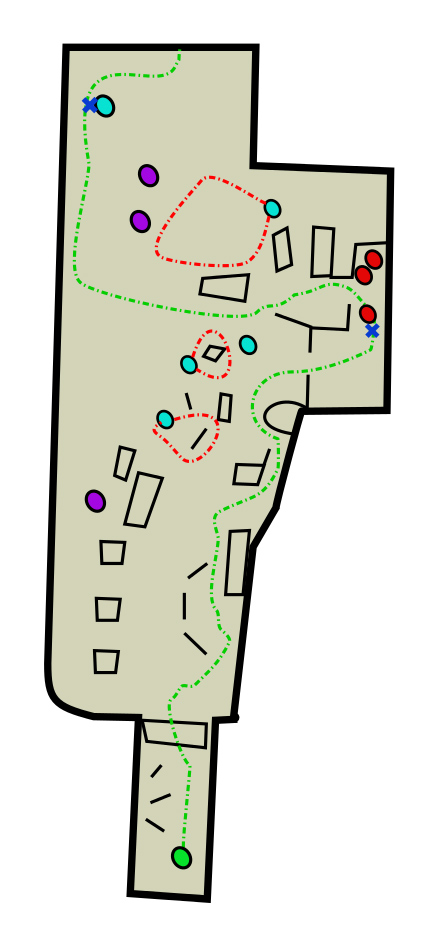 Underground Tunnel Text Map Bus Depot The Last Of Us Game - Map of underground tunnels in the us