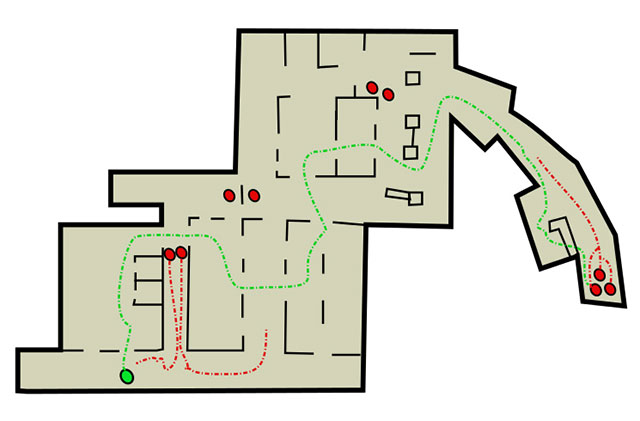 Legend The Hospital Text Map The Firefly Lab The Last