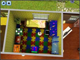 127 - Sim's House - Furnishing the house - Sim's House - The Sims 3 - Game Guide and Walkthrough