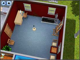 126 - Sim's House - Furnishing the house - Sim's House - The Sims 3 - Game Guide and Walkthrough