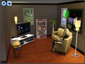 124 - Sim's House - Furnishing the house - Sim's House - The Sims 3 - Game Guide and Walkthrough