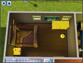 120 - Sim's House - Furnishing the house - Sim's House - The Sims 3 - Game Guide and Walkthrough