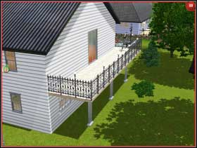 106 - Sim's House - Rebuilding the house - Sim's House - The Sims 3 - Game Guide and Walkthrough