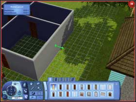 096 - Sim's House - Rebuilding the house - Sim's House - The Sims 3 - Game Guide and Walkthrough