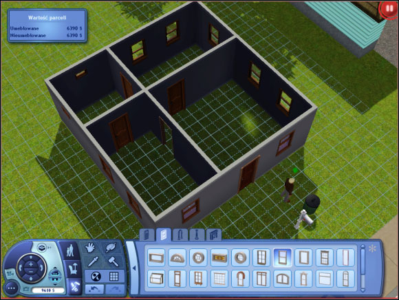 Sim S House Buying An Empty Plot Building A House