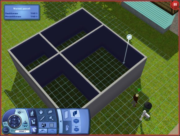 Sim 39 s house buying an empty plot building a house for House making games