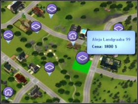 074 - Sim's House - Buying an empty plot - building a house - part 1 - Sim's House - The Sims 3 - Game Guide and Walkthrough