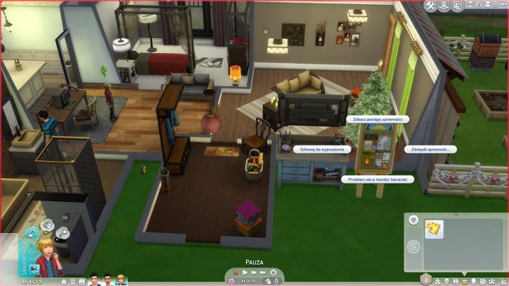 Scouting in The Sims 4 Seasons expansion DLC - The Sims 4