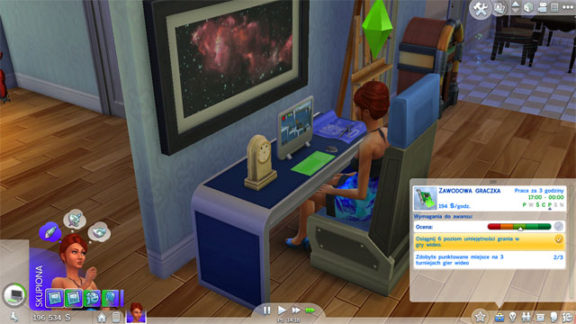 how to change your skill level in sims 4