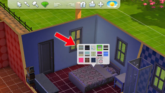 how to change item direction sims 4