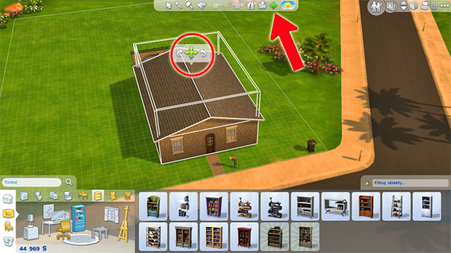 how to raise floor above foundation sims 4