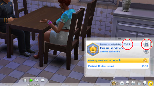 Sims 4 rewards store points cheat