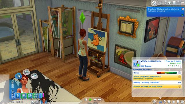 Painter Career Sims 4